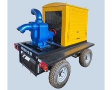 移动抗旱排涝泵站
