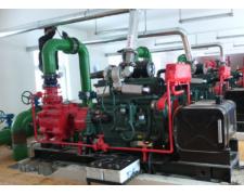为什么柴油机消防泵组在运行时柴油机排气冒蓝烟