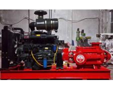 柴油机消防泵异常震动并有噪声是怎么回事