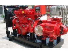 柴油机消防泵震动噪声解决方法