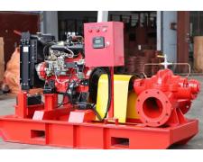 柴油机消防泵用前准备工作的进行