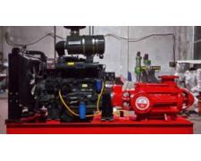 您家柴油机消防泵安装到位了吗